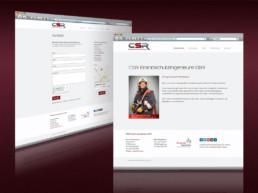 Webdesign für