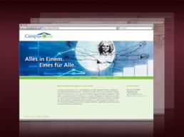 Webdesign für CampusCore