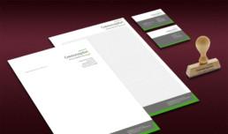 Cremonaplan Geschäftspapiere Corporate Design