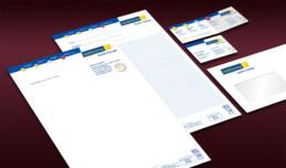 Corporate Design Geschäftspapiere für Elektroma