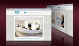 Webdesign für HNO-Arzt Helfritz & Kuhn