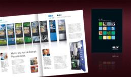 Imagebroschüre für KLIX