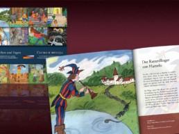 Märchenbuchgestaltung für den