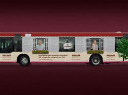 Bus-Gestaltung für Sielaff Immobilien