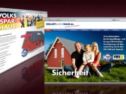 Webdesign für Sielaff Massivhaus
