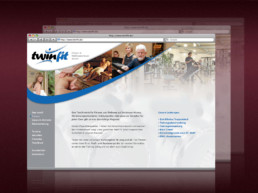 Webdesign für das Fitness- & Wellnesszentrum