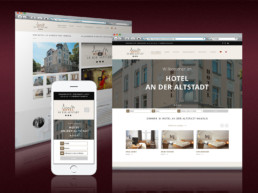 Webdesign für Hotel an der Altstadt